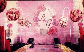 <骑士·婚享>淡紫色公主风清新婚礼