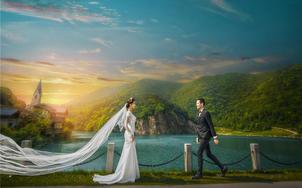清新风格婚纱摄影高端套餐