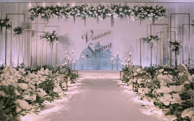 【逆光婚礼】— 含四大金  19年大热 小清新