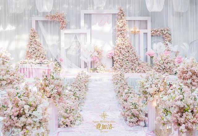 Figaro| 粉色森系婚礼