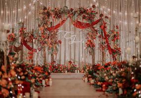 《秋韵风情》温暖橘色系婚礼