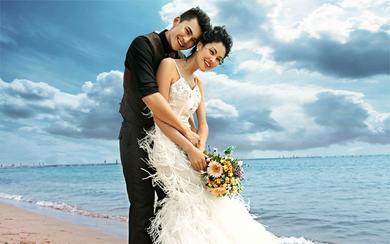青岛天美婚纱摄影---浪漫沿海线沙滩篇