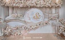 【US案例】香槟金花卉典雅轻奢系婚礼