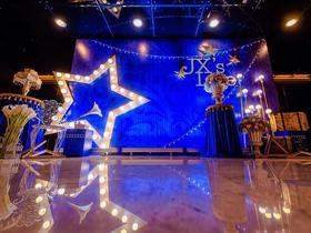 简约星空主题婚礼《星光斑蓝》