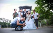 网络客户专属钜惠套餐——韩式婚纱照