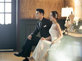 晶视觉超值纯拍套餐【韩式婚纱照】