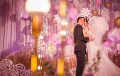 郑州迎宾花园婚礼《迷幻的金粉色麦田》