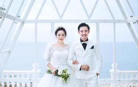 【北海旅拍】海景婚纱照/海天一线/水晶教堂拍摄
