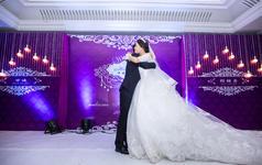 紫色爱恋佳华广场酒店婚礼