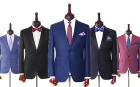 3999元意大利面料定制西服+西裤+衬衫+领带