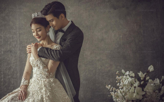 传世系列50年经典的婚纱照