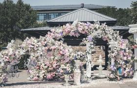 明天婚礼 | 粉色系户外《盛夏》