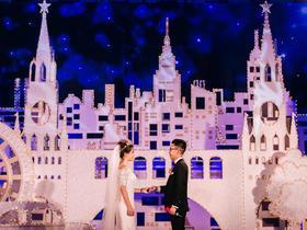 欧式城堡婚礼 泰晤士河畔的爱情
