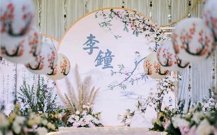 【新中式】室内仪式+香槟金布置简约时尚性价比高