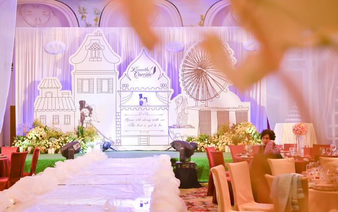 唯美小清新森林风·丽思卡尔顿酒店·诺活婚礼策划