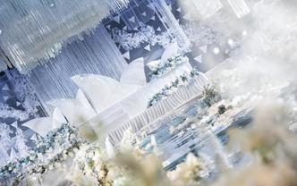 【乐依婚礼】初见如故  白色婚礼