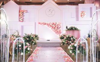家-粉色主题婚礼,邕江宾馆。