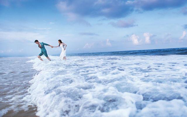 倾慕婚纱「青岛海景主题」黄金海岸线