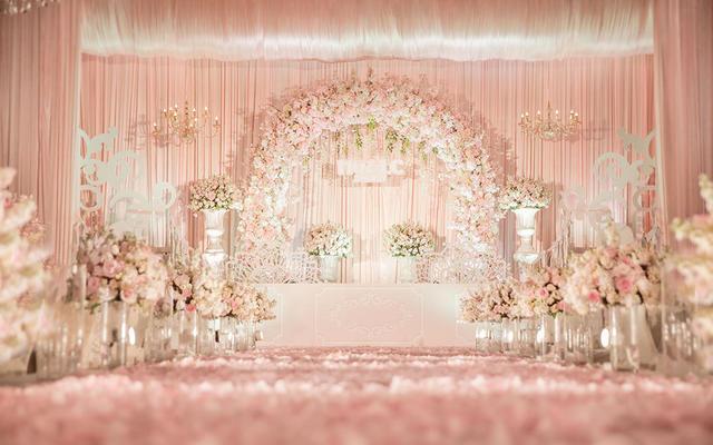 樱花罗曼季——花海阁樱花创意主题婚礼