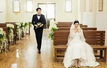 【婚纱摄影】唯美韩式系列婚纱照双影像拍摄,微电影
