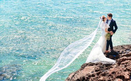 《高端定制》【5A级景区天涯海角+非二】2天婚拍