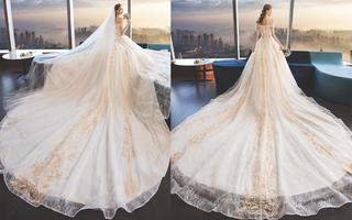 HUSHROM 花想容婚纱礼服