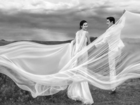 一价全包三亚伯爵婚纱摄影旅拍海景婚纱摄影8588