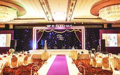 紫色星空主题婚礼