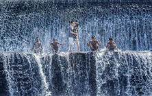 巴厘岛旅拍——街景+海边沙滩+酒店泳池