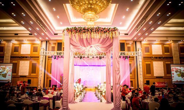 皇家婚礼|五洲宾馆|粉紫色