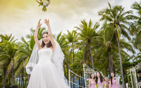 【推荐组合】首席摄影师双机位婚礼跟拍,原片全送
