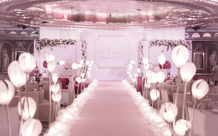 Pink hazy——暖粉主题婚礼