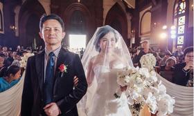 【素养色美妆造型】婚礼当天作品