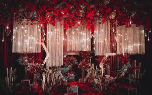 Coco——红黑大气创意婚礼!个性推荐