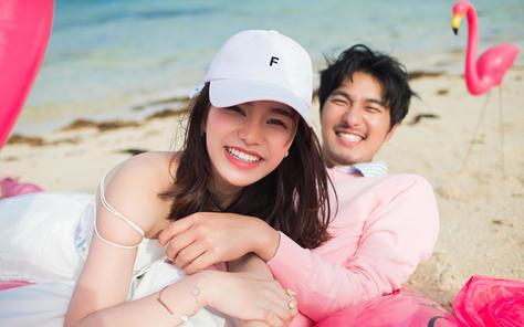 【日本冲绳】最好的爱情是如火烈鸟般相伴一生