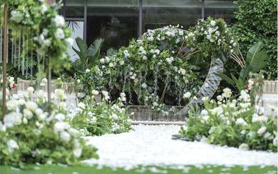 【述说婚礼】高级花材 设计感户外