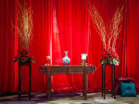 中式婚礼/古典美/创意星悦婚礼策划公司