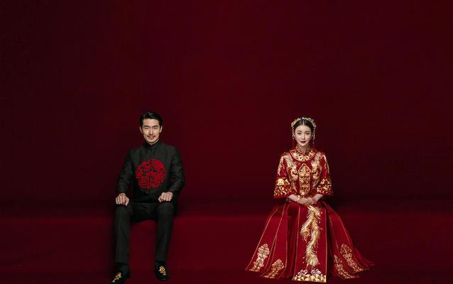 白宫婚纱摄影——中国风系列3