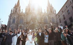 婚游记 西班牙巴塞罗那 婚纱摄影两日套餐