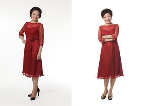 【妈妈咪咔】婚礼仪式华丽短款礼服系