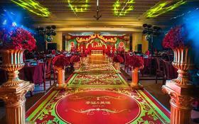 红金色系列风格西式主题婚礼