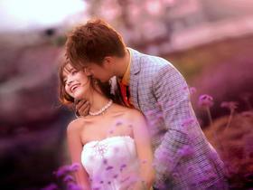 花海徜徉丨4套服装任选婚纱场景丨精拍100张