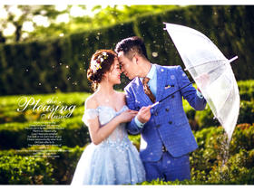 西安平价工作室婚纱摄影照片