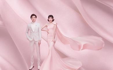 【台北新娘婚纱摄影新品研发】粉爱系一