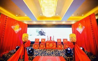 中式喜庆热闹     国人的婚礼