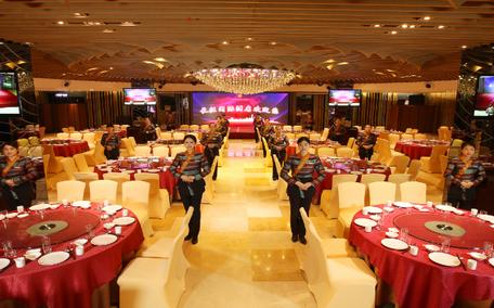婚礼堂长征国际酒店宴会厅