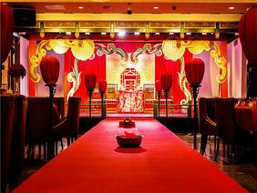祥云凤舞中式婚礼布置