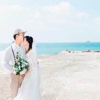 北海旅拍涠洲岛旅拍写真式婚纱4服4造 先拍后付