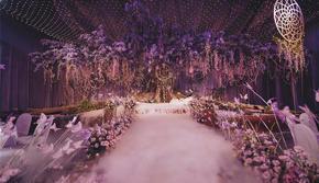 超级梦幻紫色 花艺设计效果满分