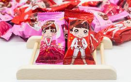 喜糖-迎宾糖-麦片巧克力(100颗为1180g)